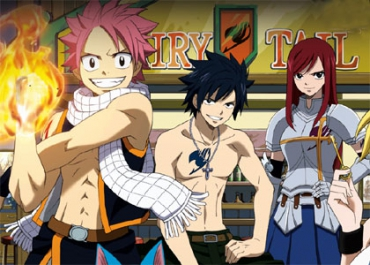 Fairy Tail dame le pion à One Piece, Dragon Ball Z et Black Butler