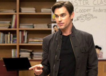 Matt Bomer : « Jane Lynch (Glee) m'a demandé de l'embrasser ! »