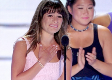 Teen choice awards : les larmes de Lea Michele