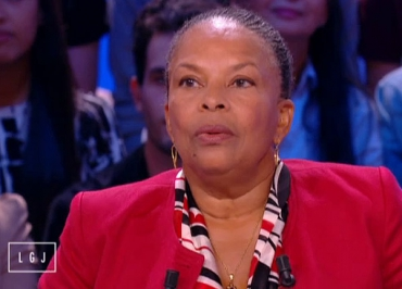 Le Grand journal : l'efficace trio Christiane Taubira, Mélissa Theuriau et Jamel Debbouze