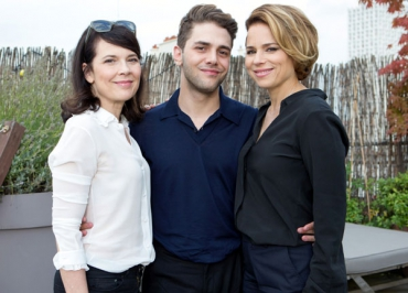Shailene Woodley (Divergente) et Xavier Dolan (Mommy) au Grand Journal de Canal +
