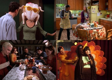 How i met your mother, Friends, Buffy, Glee, Malcolm... quand les séries fêtent Thanksgiving
