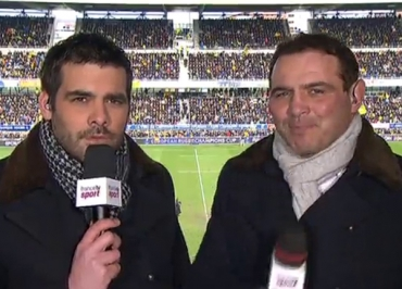 Clermont / Saracens : le rugby (France 2) plus puissant que Les Experts (TF1) ?