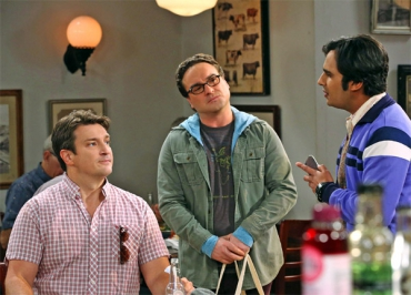 Nathan Fillion (Castle) dans The Big Bang Theory